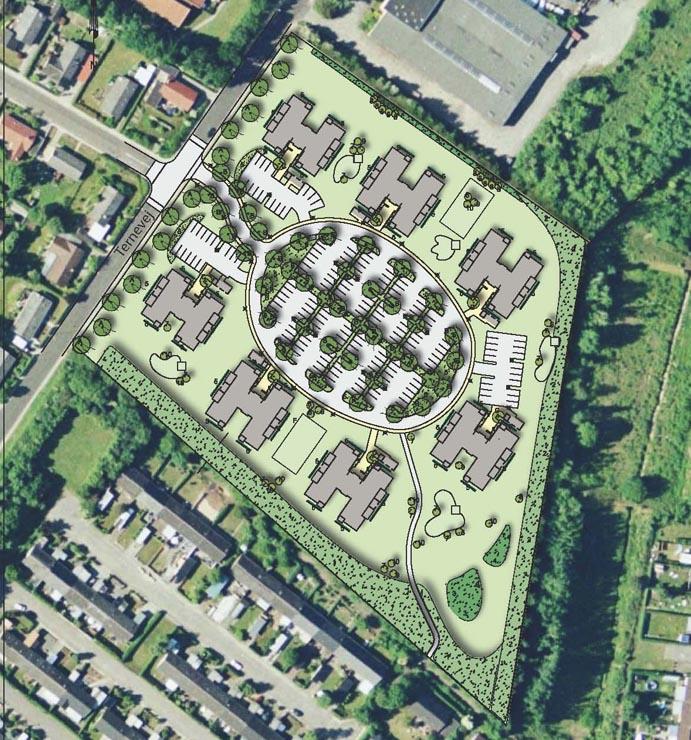 Bebyggelsesplaner i Horsens - Ternelunden