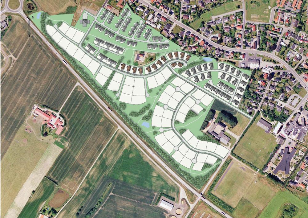 Bebyggelsesplaner i Horsens - Lund